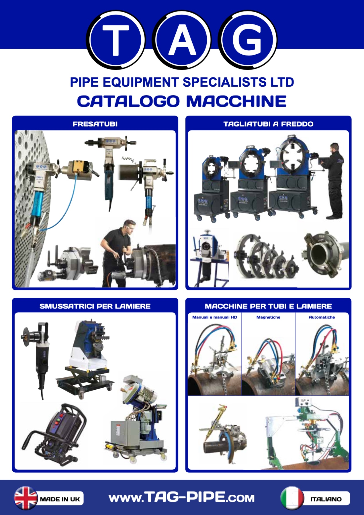 catalogo macchine tag