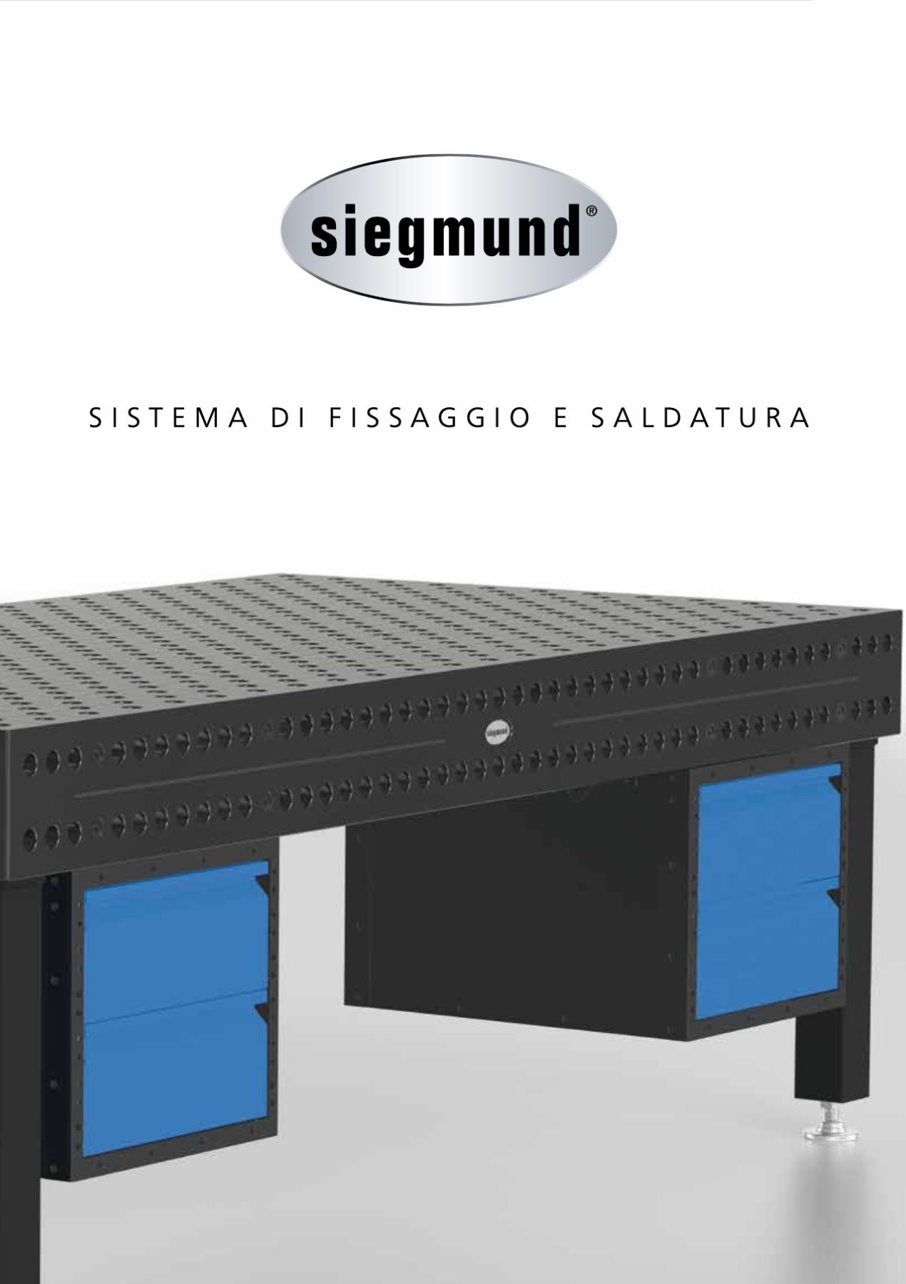 catalogo siegmund tavoli